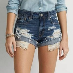 AMERICAN EAGLE Outfitters Denim Distressed…